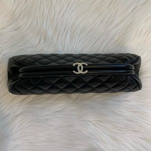 Chanel classic timeless clutch